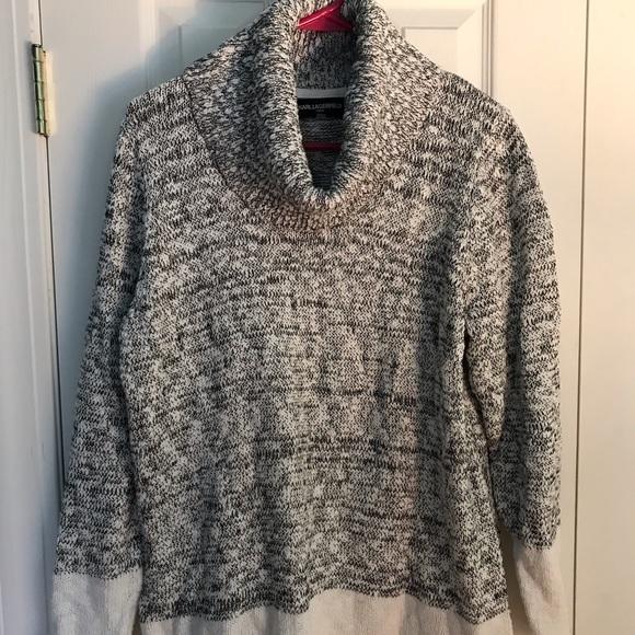Karl Lagerfeld Sweaters - Karl Lagerfeld Women's XL cowl neck sweater